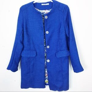 Gorgeous Vibrant Blue Spring Jacket